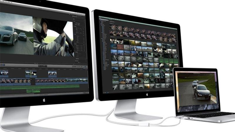 conectar 3 monitores mac mini