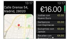 Just Eat llega al Apple Watch
