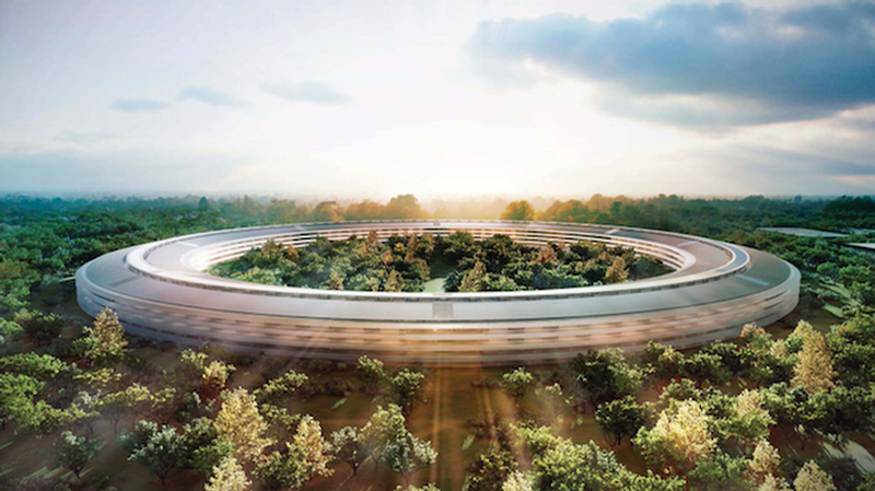apple park dron