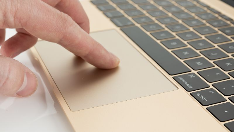 MacBook 2015 Gold mousepad